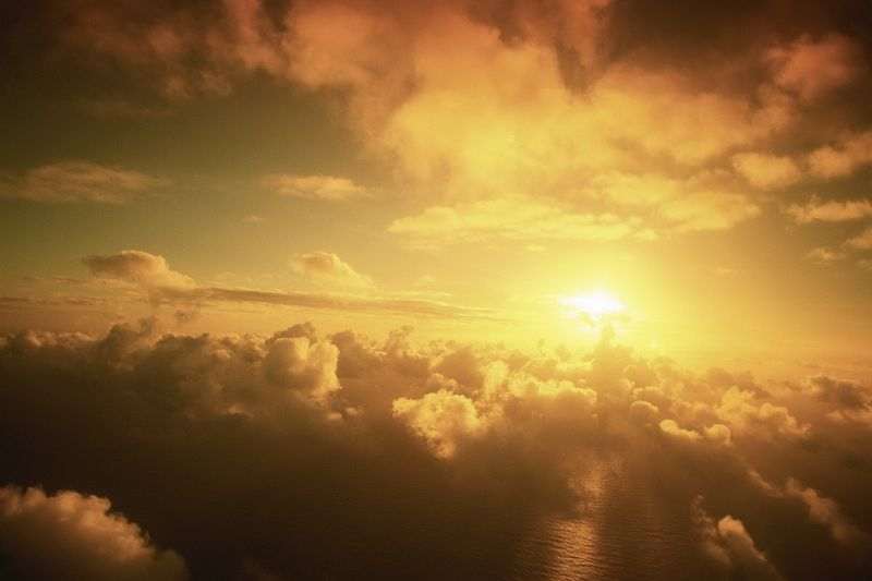 Sky,-clouds-and-sea