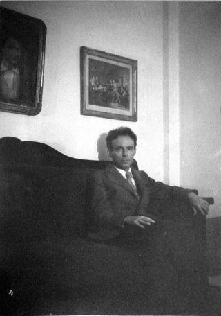 César Moro - Foto inédita - Mario Bellatin