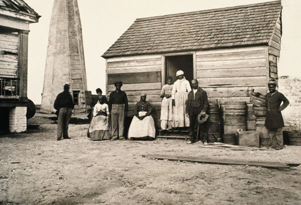 Plantation-slaves