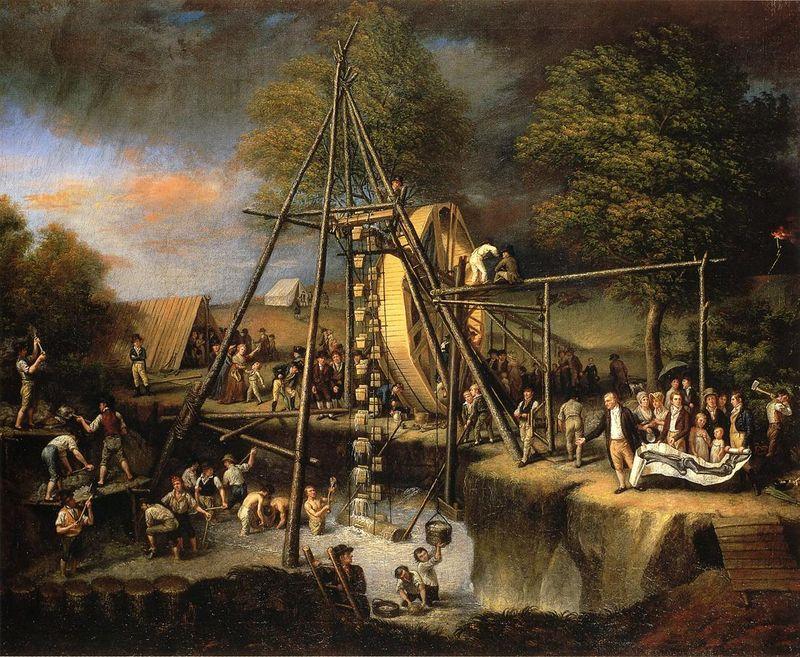 C_W_Peale_-_The_Exhumation_of_the_Mastadon